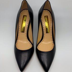 Rupert Sanderson Black leather heels